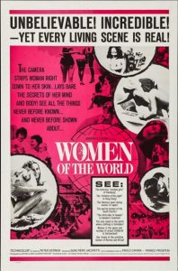 Poster for Women of the World (1963), perhaps an influence on Chained Girls