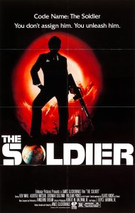 Poster forThe Soldier (1982) by James Glickenhaus who later madeThe Protector(1985).