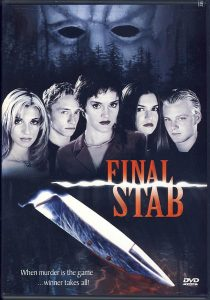 DVD case for Final Stab (2001)