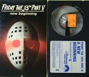 Friday the 13th: A New Beginning Beta tape