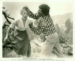 Promotional Still from Monster on the Campus (1958)
